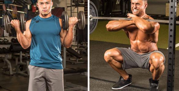 Exercitii pentru masa musculara