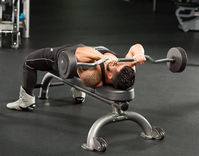 Capul Lung al Tricepsului - 3 Exerciții pentru Masă